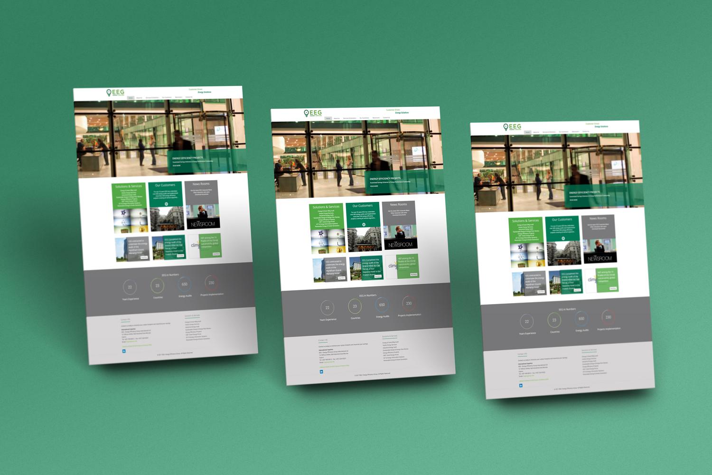 Energy Efficiency Group Website Design