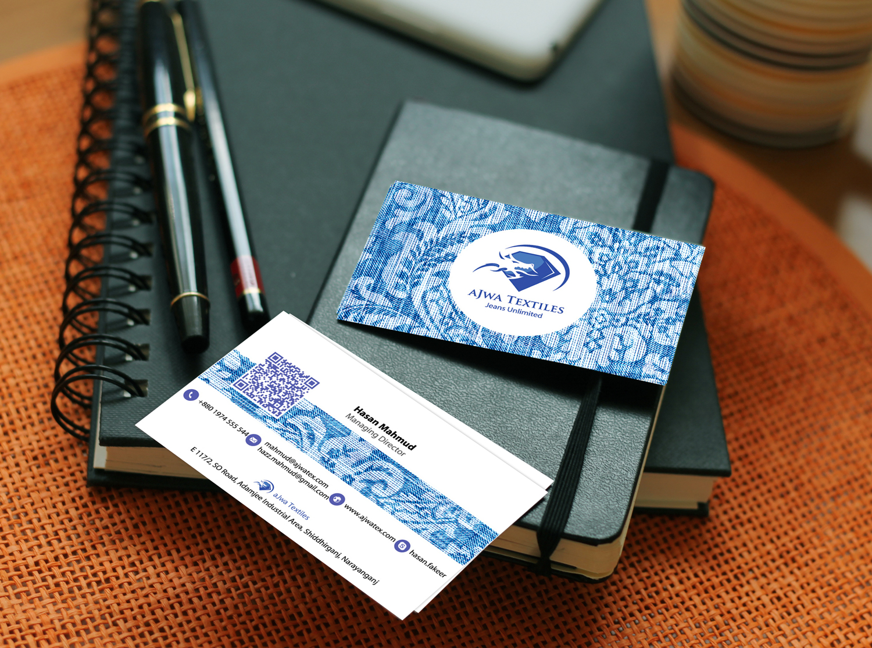 Ajwa Textile Business Card